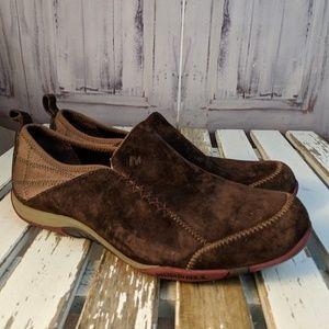 Womens shoes comfort flats slip clogs work Merrell